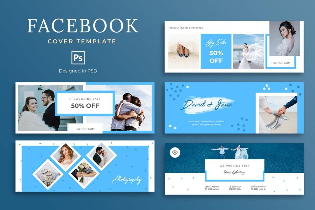 Facebook Cover – Wedding Service