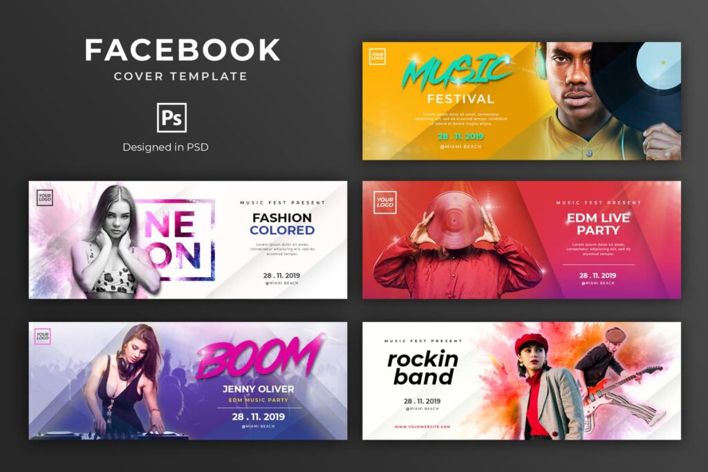 Facebook Cover – Music Party Festival