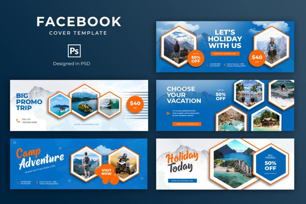 Facebook Cover – Holiday Today