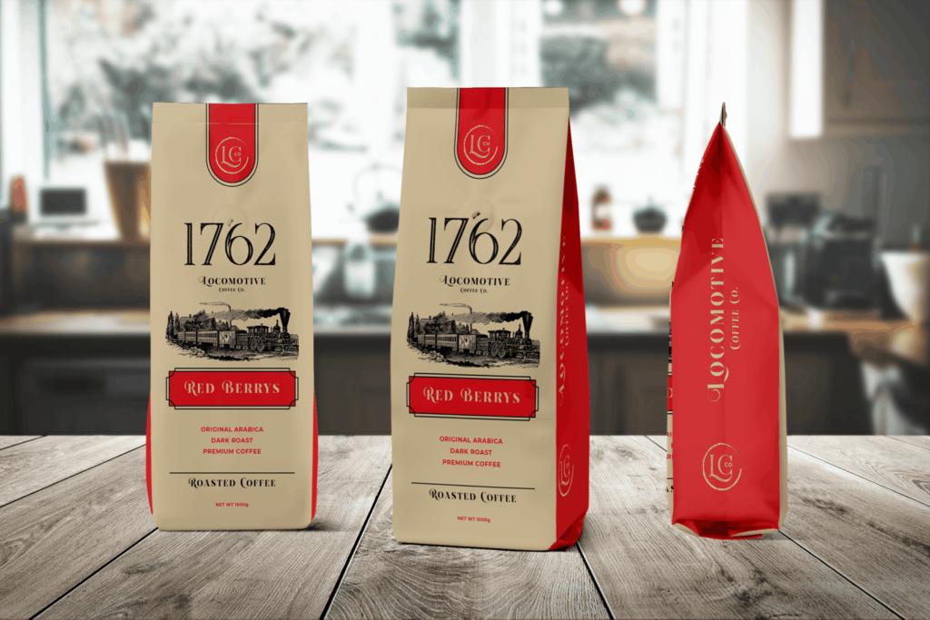 Packaging Template – Arabica Premium Coffee