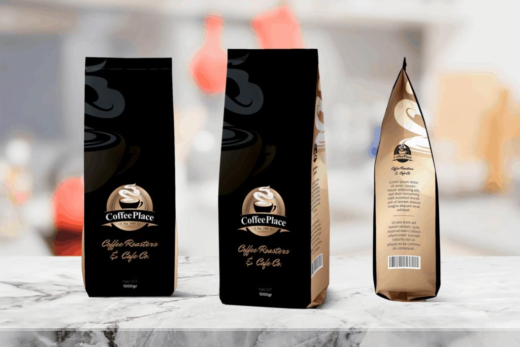 Packaging Template – Black Coffee