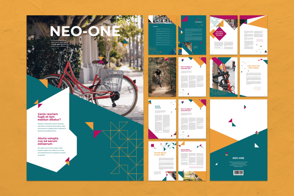 Magazine Template – Bike Adventure