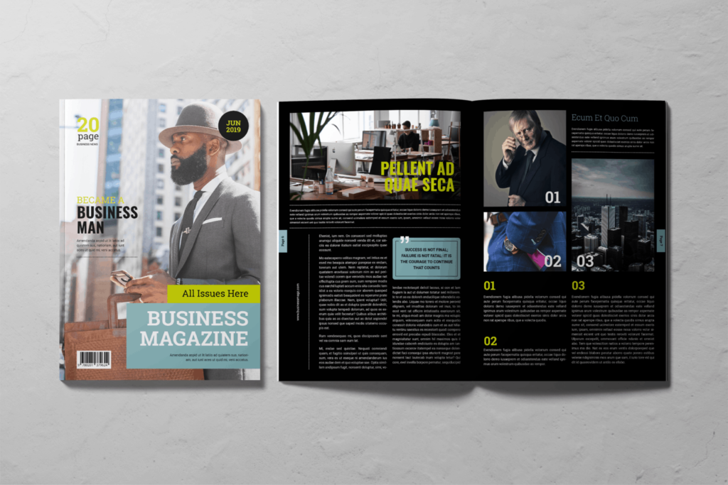 Business Magazine – Entrepreneur's Journal