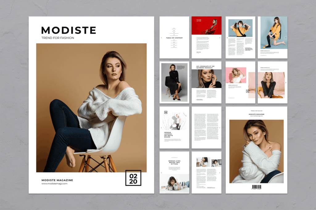 Magazine Template – Trend Fashion