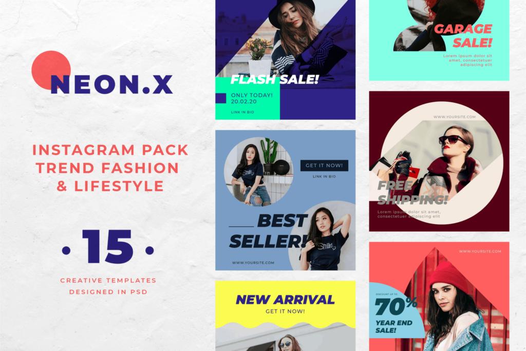 Instagram Banner – Fashion Trend Pack