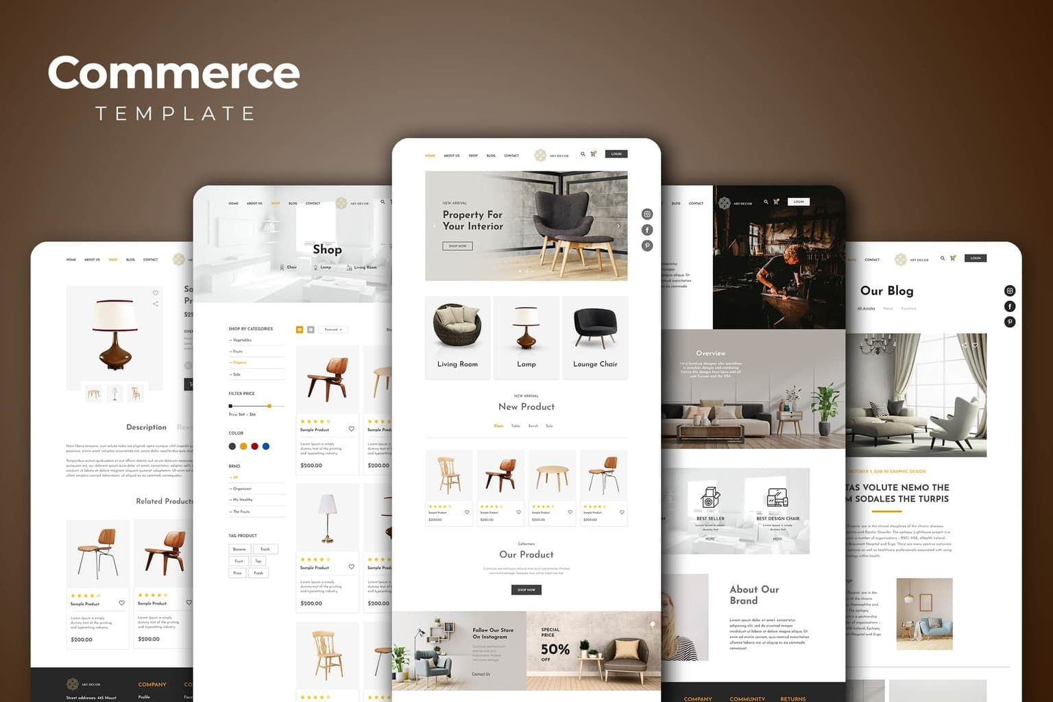 Web Commerce – Property Gallery