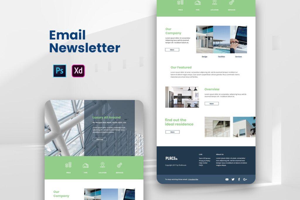 Luxury Residence – Email Newsletter
