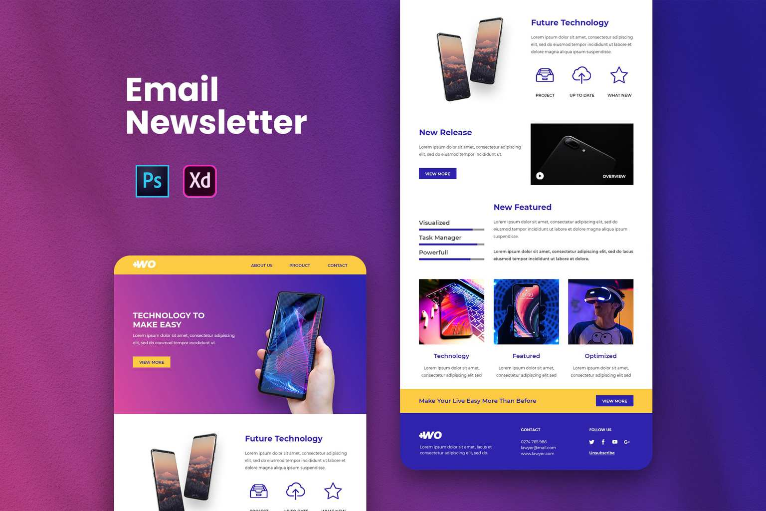 how utilize the best anti mainstream email newsletter templates in 2020 3