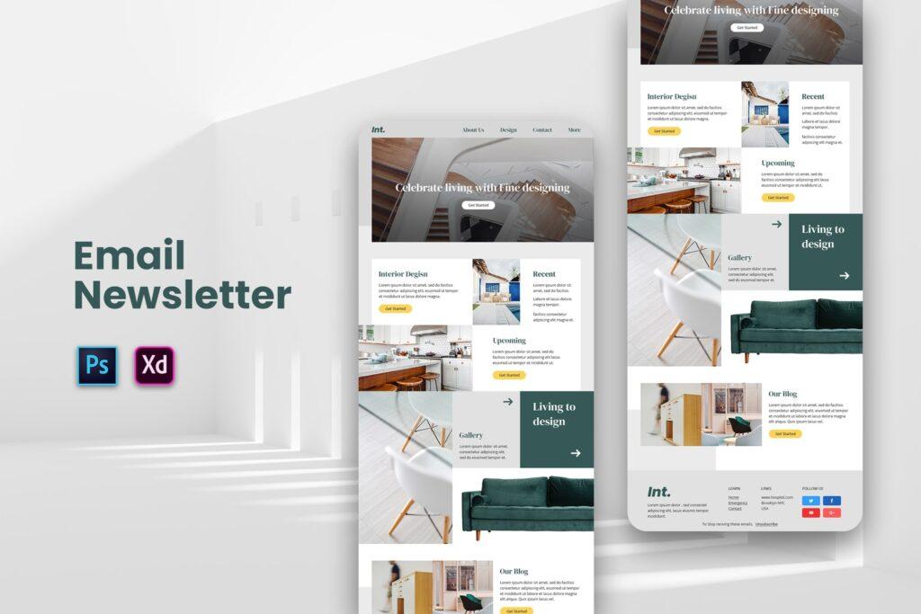 Interior Design – Email Newsletter