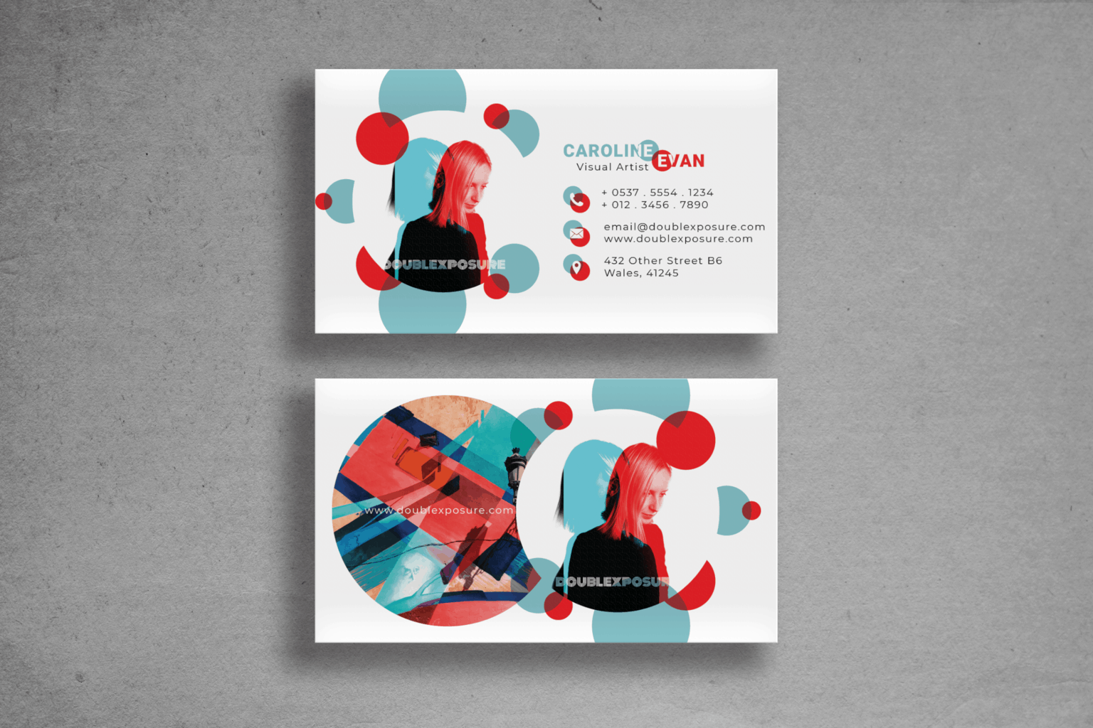 Business Card – Colour Exposure Template
