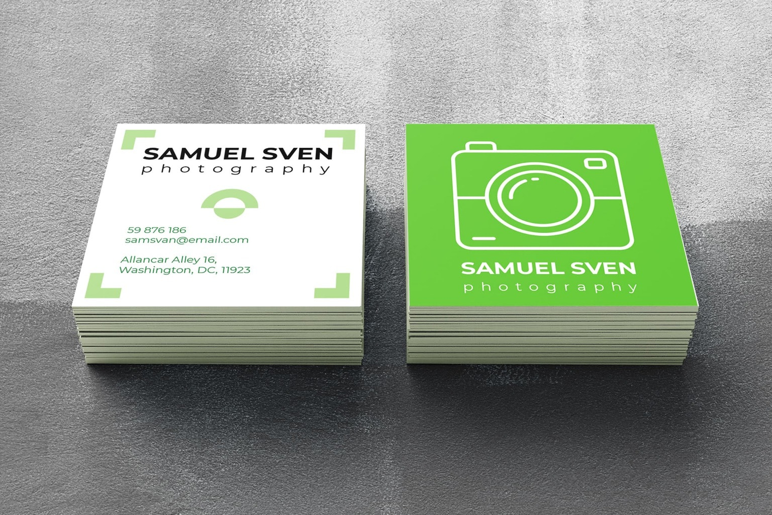 Business Card – Photography Professoinal