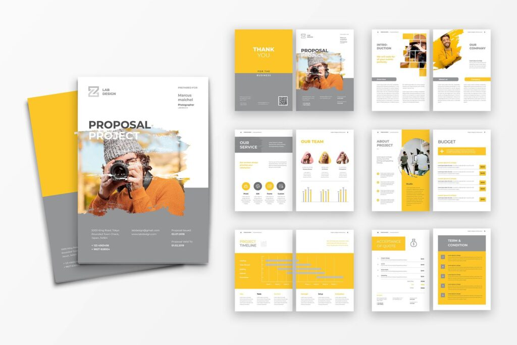 Proposal – Professional Photography
