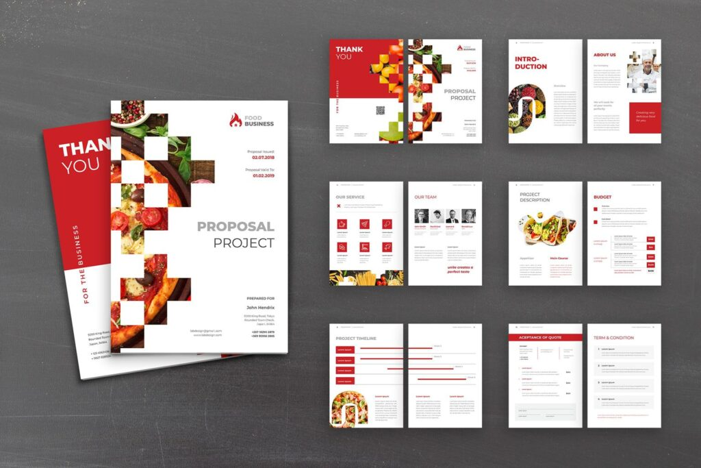 Proposal – Food Business Planner