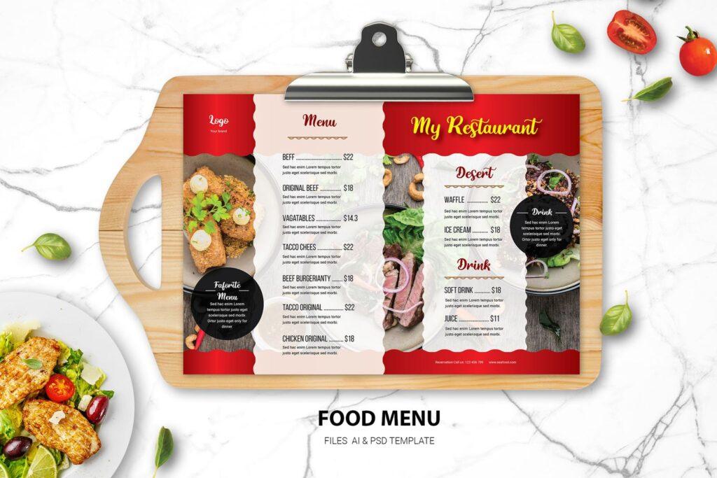 Food Menu – Favourite Resto