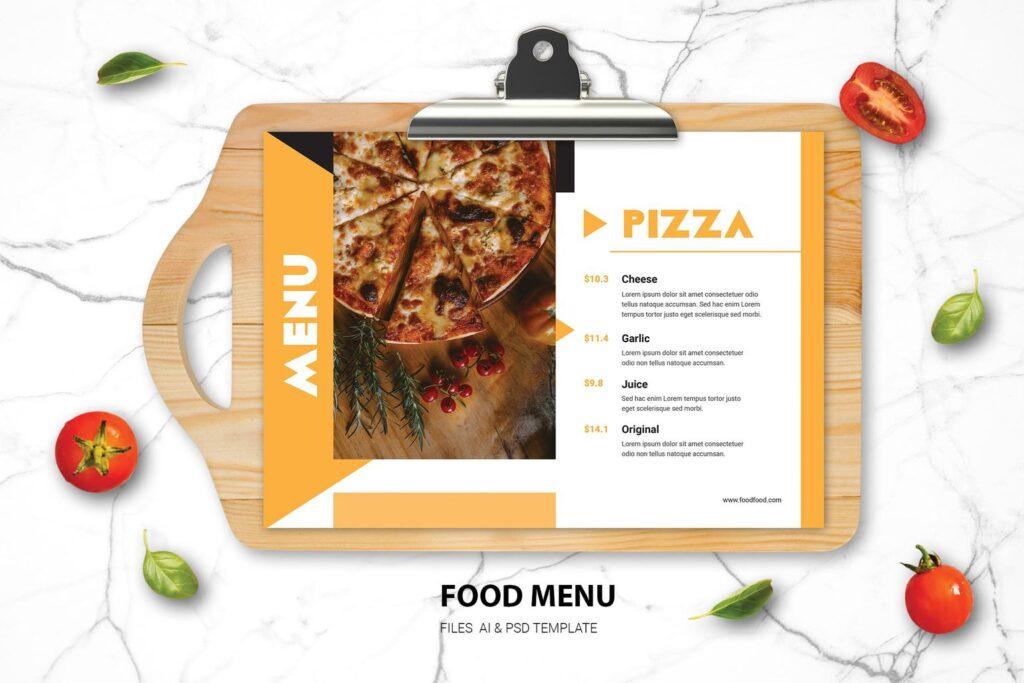 Food Menu – Pizza Resto