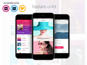 Radiant Mobile UI Kit