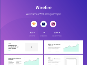 Wireframe Web Design Kit