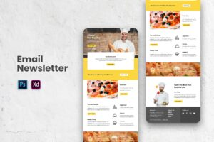 Special Cheese Resto - Email Newsletter