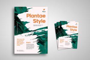 Flyer - Plantae Style Promotion