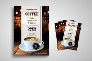 Flyer Template - Coffee Original Varian