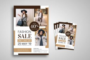 Flyer Template - Fashion Imagination Style