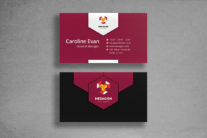 Business Card - General Manager Identity