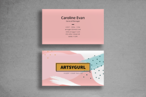 Business Card - Simple Name Tag