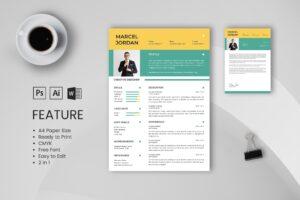 CV Resume – Creative Designer 3