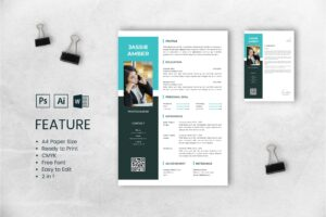 CV Resume – Photographer Profile 8