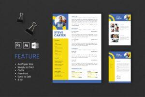 CV Resume - Art Director Profile 3