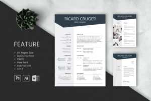 CV Resume - Web Designer Profile