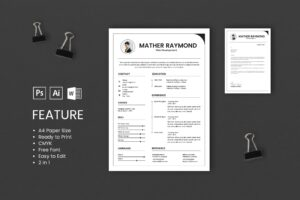 CV Resume - Web Developers Profile