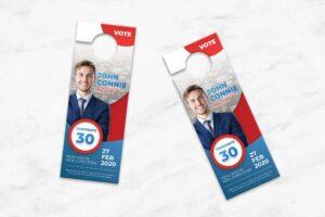 Door Hanger - Candidate Campaign