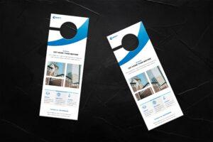 Door Hanger - Property Business