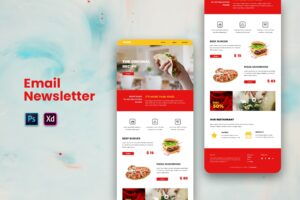 Fast Food Resto - Email Newsletter