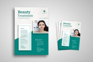 Flyer Template - Beauty Treatments Service