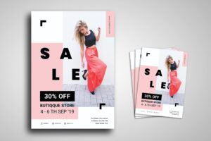 Flyer Template - Boutique Store