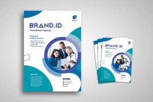 Flyer Template - Brand Consultant Agency