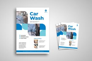 Flyer Template - Car Wash Service