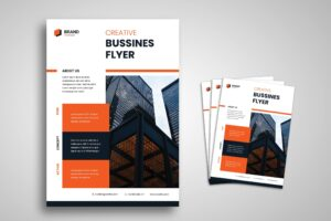 Flyer Template - Creative Bussines Minimalist