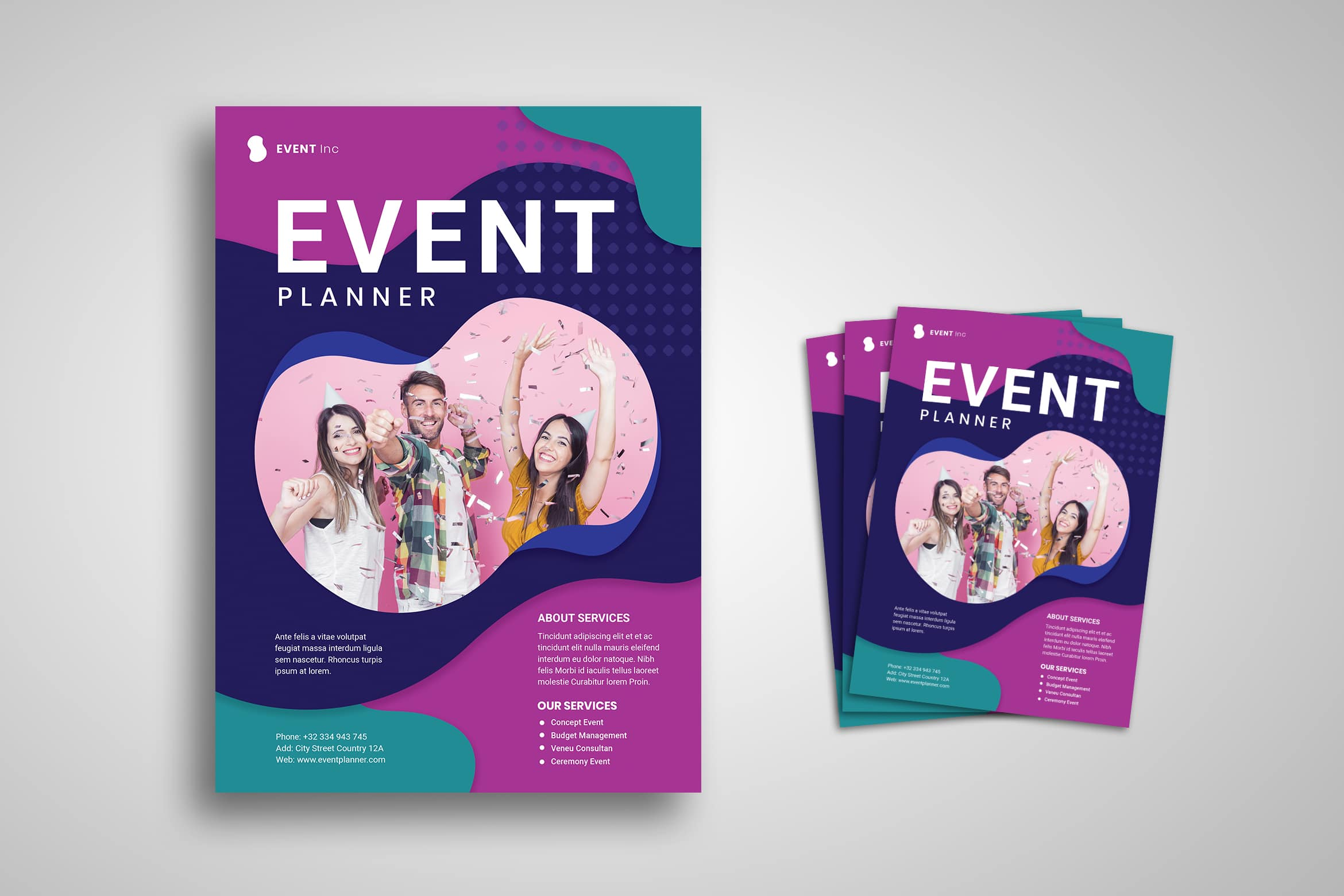 Flyer Template - Event Planner Special Party