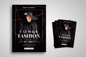 Flyer Template - Fashion Catwalk
