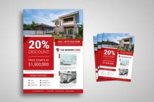 Flyer Template - Modern Home