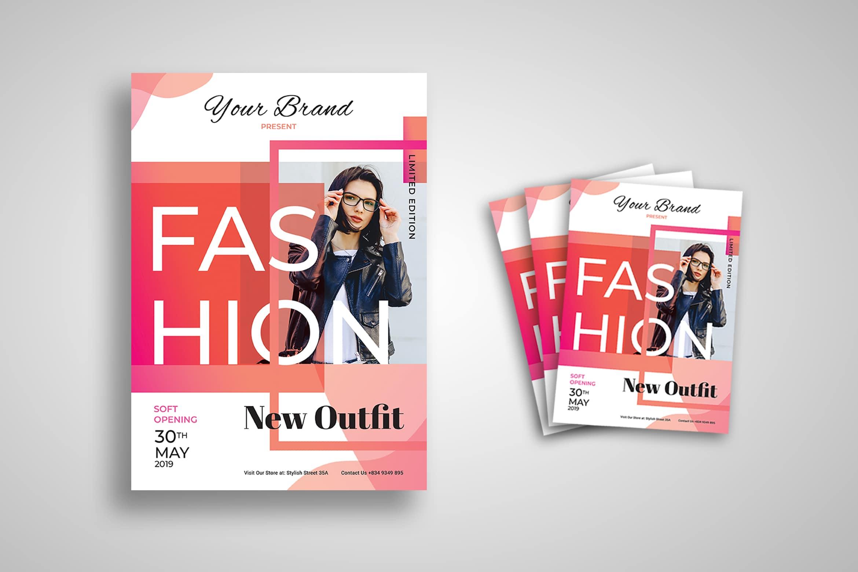 Flyer Template -Fashion Modern