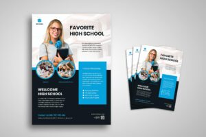 Flyer Template - Favourite High School Promotion