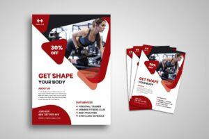 Flyer Template - Fitness & Personal Trainer