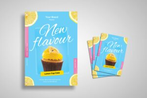 Flyer Template - Fresh Dessert