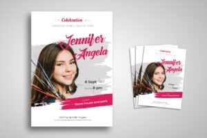 Flyer Template - Graduation Celebration