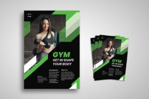 Flyer Template - Gym Place Service