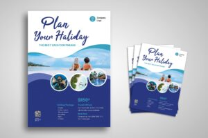 Flyer Template - Holiday Package